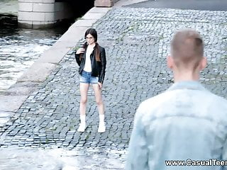 Casual Teenager Coition - Geeky Lilliputian Fucked Off Out Of One's Mind Stranger